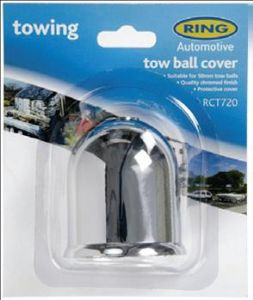 RING TOWBALL COVER CHROME