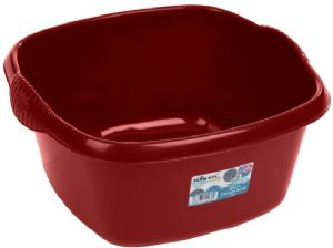 CASA 32CM SQUARE BOWL CHILLI RED