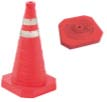 HTD COLLAPSIBLE SAFETY CONE